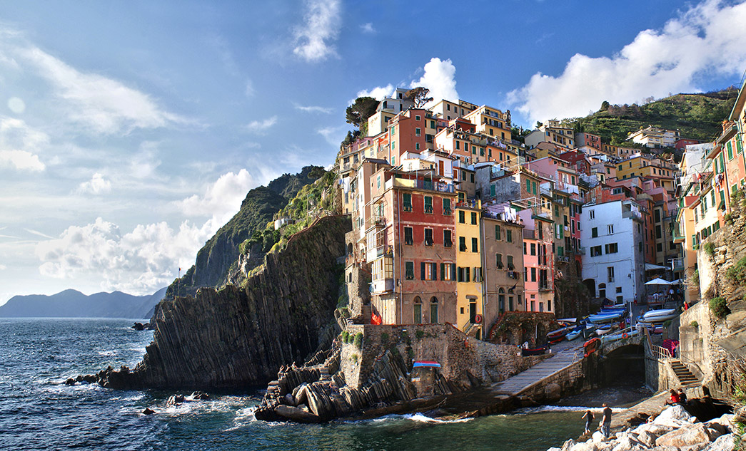 Luxury day tour to Cinque Terre, Liguria, with private driver