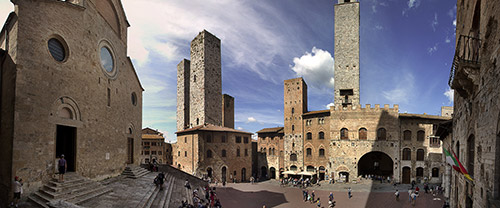 Sightseeing day tour to Siena and its surroundings