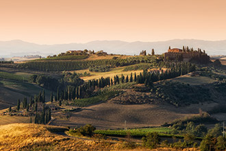 Sightseeing transfers to and from Tuscany in Italy with deluxe cars