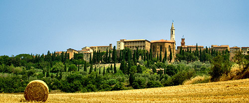 Sightseeing day tour in Val d'Orcia, Tuscany, near Siena